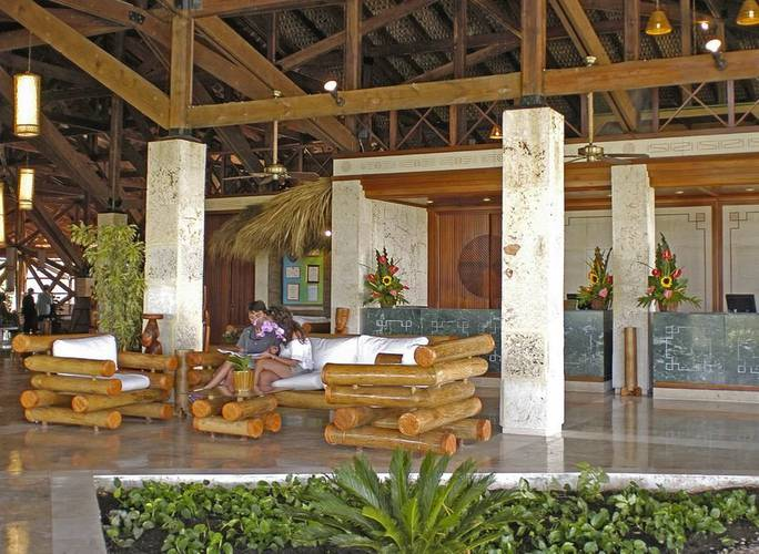 Lobby natura park beach eco resort & spa punta cana