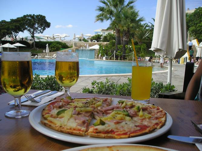 Restaurante Pizzería Bolzano Blau Punta Reina Resort Mallorca