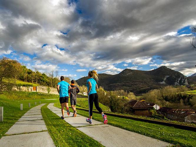 Outdoors hotel las caldas spa & sport asturias