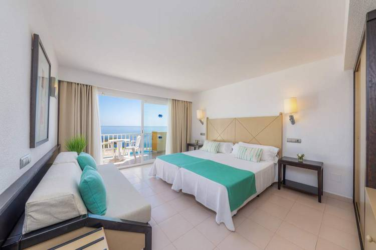 Double room sea front view blau punta reina resort majorca