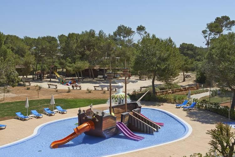 Splash Pool Blau Colonia Sant Jordi Resort & Spa Mallorca