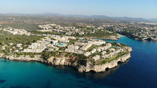 Panoramic view Blau Punta Reina Family Resort in Majorca