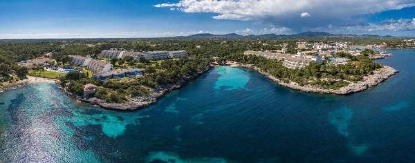 Panoramic view Blau Portopetro Beach Resort & Spa in Majorca