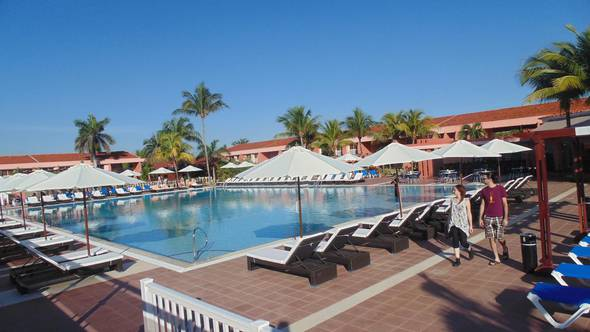 Outdoor pool blau arenal habana beach hotel cuba
