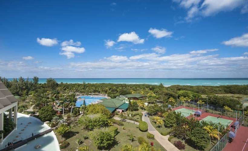 Panoramic view blau varadero hotel varadero beach