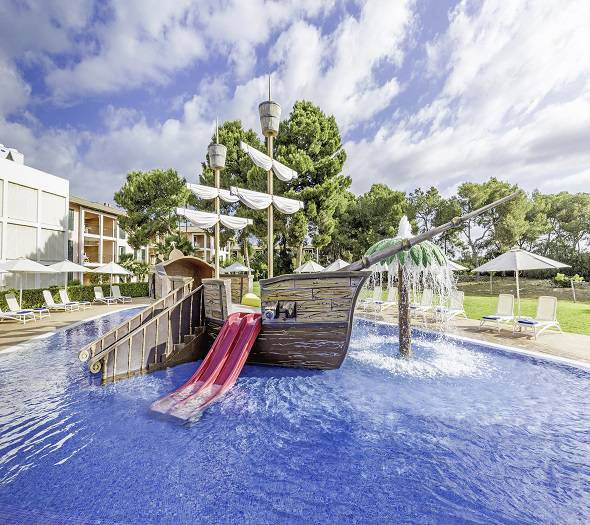 Splash pool blau colonia sant jordi resort & spa majorca