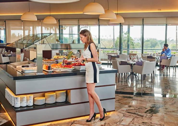 Buffet restaurant blau colonia sant jordi resort & spa majorca