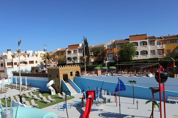 Splash park blau punta reina family resort maiorca