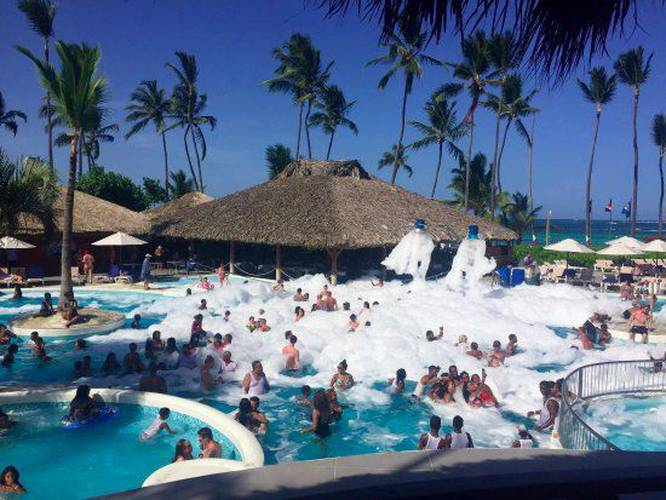 Outdoor swimming pool natura park beach eco resort & spa punta cana