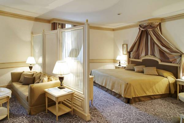JUNIOR SUITE Gran Hotel Las Caldas Wellness Clinic a Asturie